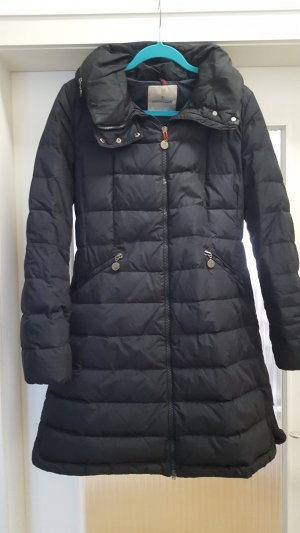 Moncler Down Coat dark blue