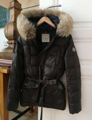 Moncler Down Jacket bronze-colored