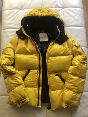 Moncler Down Jacket yellow-black polyester