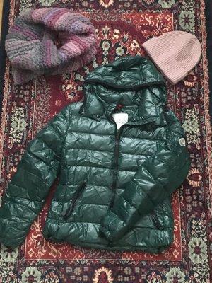 Moncler Jacke Bady, Farbe Dunkelgrün Größe 2 (Damengröße 36/38)