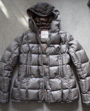 Moncler Down Jacket bronze-colored-grey brown
