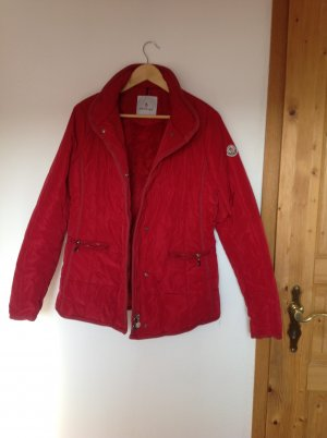 MONCLER JACKE IN TOLLEM ROT