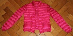 Moncler Jacke Lans pink Sommerdaune Gr. 1 34 36 S mit Beutel TOP! NP 500€