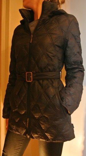 Moncler Jacke, schwarz, gesteppt