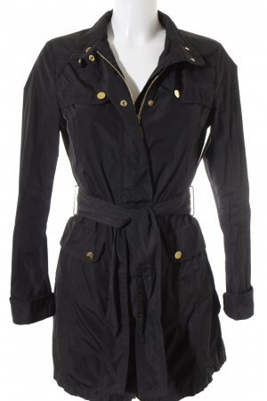 Moncler Lange Jacke schwarz Business-Look