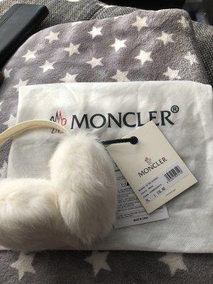 Moncler Original ohrenwärmer mit Etikett