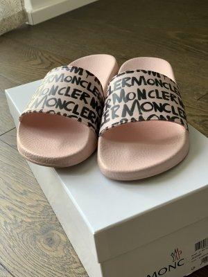 Moncler Sabots pink