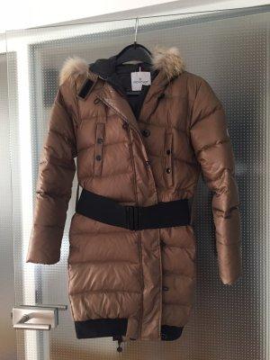 Moncler Winter Coat bronze-colored-black