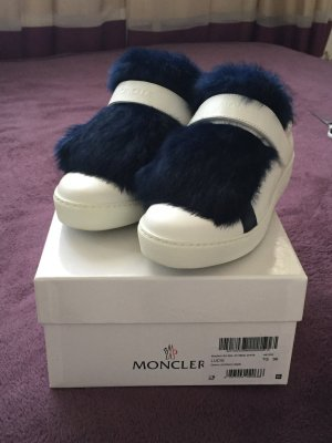 Moncler Sneakers blue-white