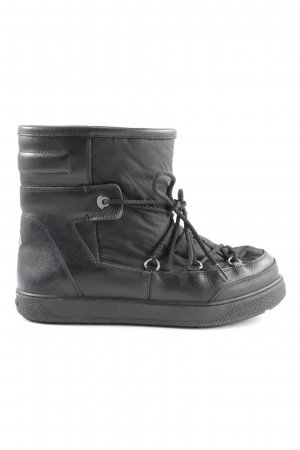 Moncler Snow Boots black athletic style