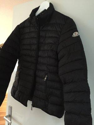Moncler Steppjacke schwarz neu Mantel 4 42 L
