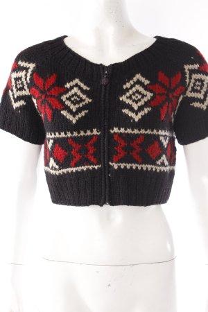 Moncler Veste en tricot multicolore