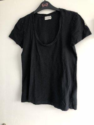 Moncler T-Shirt kurzärmlig in schwarz