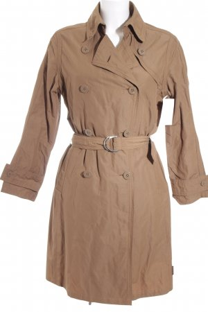Moncler Trenchcoat hellbraun Casual-Look