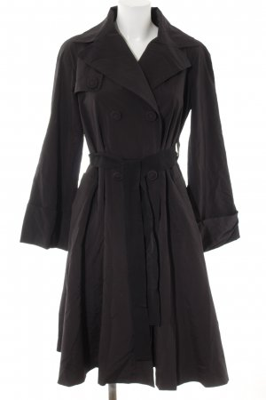 Moncler Trenchcoat schwarz Business-Look