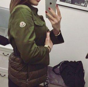 Moncler Down Jacket green grey
