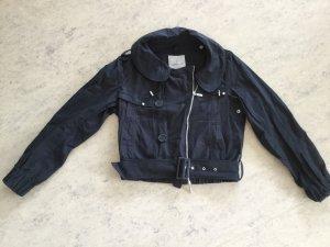 Moncler Between-Seasons Jacket black cotton