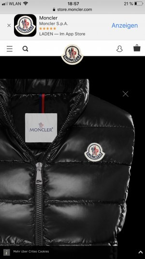 Moncler Weste Ghany