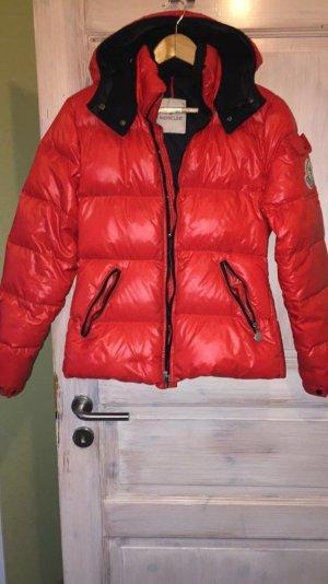 Moncler Doudoune rouge-noir