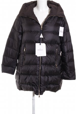 "Moncler Wintermantel ""Colliers Coat Black/Brown"" schwarz"