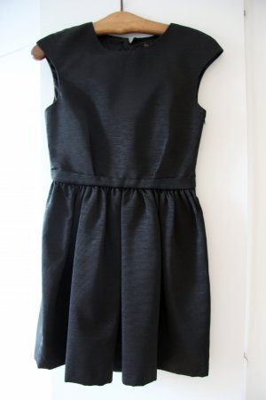 Zara Dress black-silver-colored