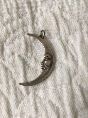 Mondanhänger aus Silber