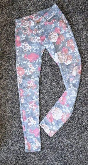 Monday Denim – Hippie - FlowerPower / Festival Sommer Jeans PushUp