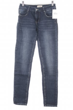 Monday Slim Jeans dunkelblau Casual-Look