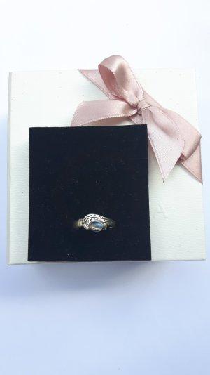 Mondblatt Ring Größe 53
