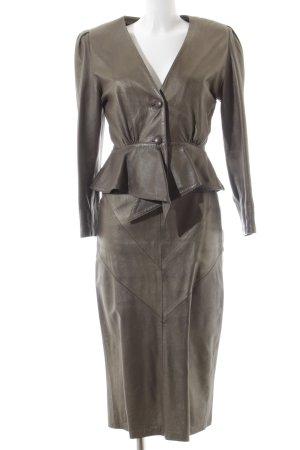 Monde Pelle Ladies' Suit bronze-colored street-fashion look