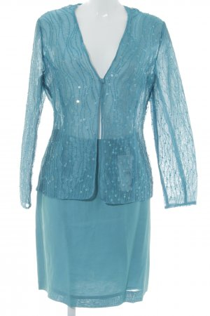 Mondi Traje para mujer azul cadete elegante