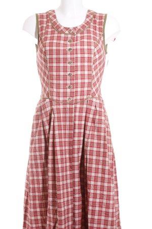 Mondsee Dirndl glen check pattern country style