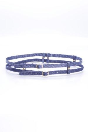 Mongrels in common Gürtel blau zwei Stränge