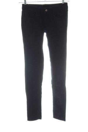Monkee genes Pantalone di velluto a coste nero stile casual