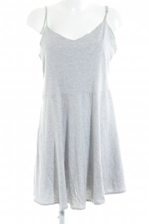 Monki A-Linien Kleid hellgrau Casual-Look