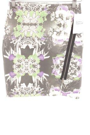 Monki Bleistiftrock florales Muster Casual-Look
