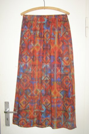 Monki Maxi Skirt multicolored polyester
