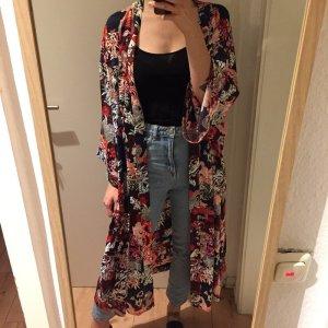 Monki Bunter Kimono Mantel mit Muster neu!