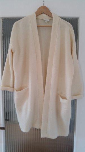 Monki Cardigan Oversize Mantel XS Creme