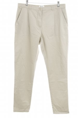 Monki Chinohose hellbeige Casual-Look