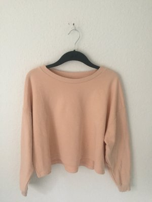 Monki cropped Sweater Rosa