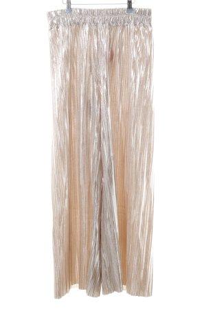 Monki Culottes goldfarben extravaganter Stil