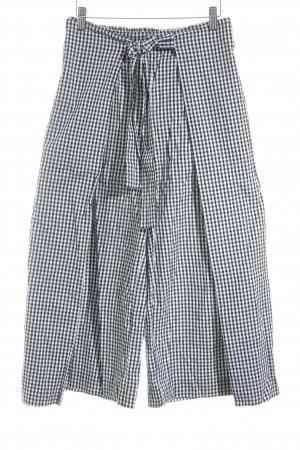 Monki Culottes white-black check pattern casual look