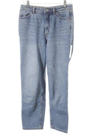 Monki High Waist Jeans graublau minimalistischer Stil