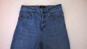 MONKI High Waist Jeans, O.1, Größe 29, hellblau