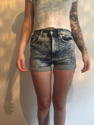 Monki High Waist Shorts