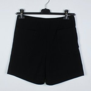 Monki High Waist Shorts Gr. M schwarz (19/04/332)