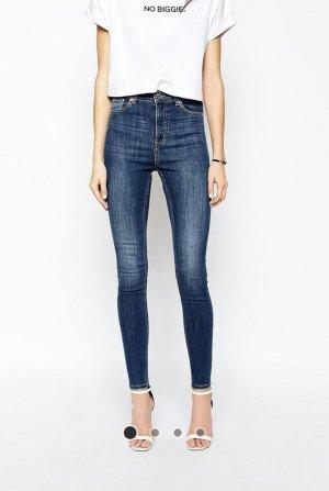 monki Jeans mit hohem Bund xs