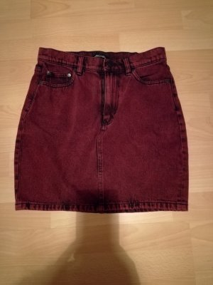 Monki Jeans Rock rot