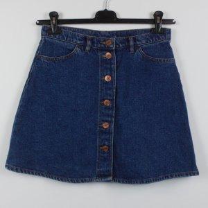 Monki Gonna di jeans blu-blu scuro Cotone